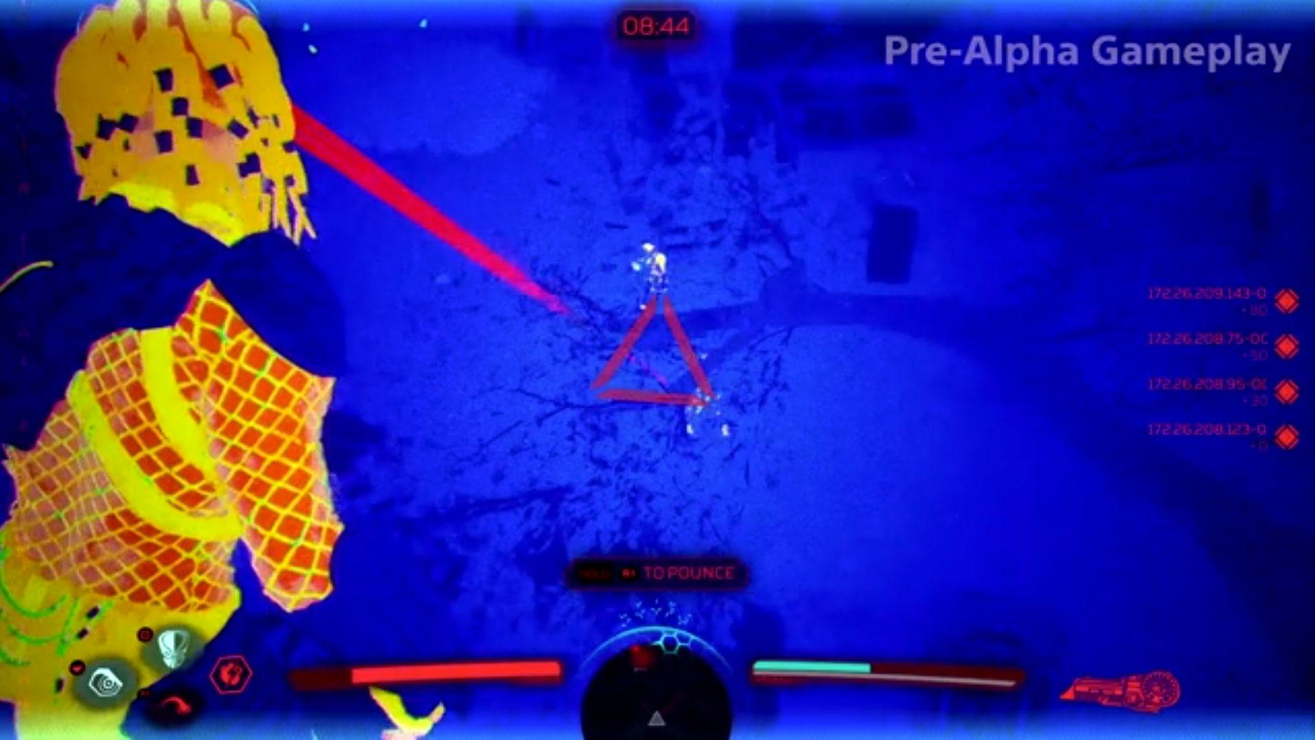 A Sneak peek of the Predator: Hunting Grounds Gameplay